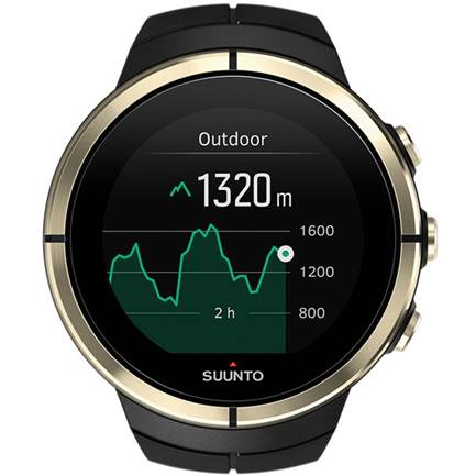 Unisex Suunto Spartan Ultra Bluetooth GPS Gold Special Edition Alarm Chronograph Watch SS023303000