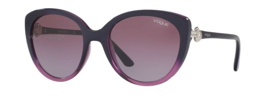 Vogue ladies purple Cat Eye sunglasses