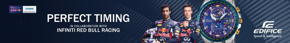 Casio – Edifice – Armbanduhren aus der Red Bull Edition