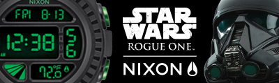 Nixon Star Wars Rogue Eins Uhren