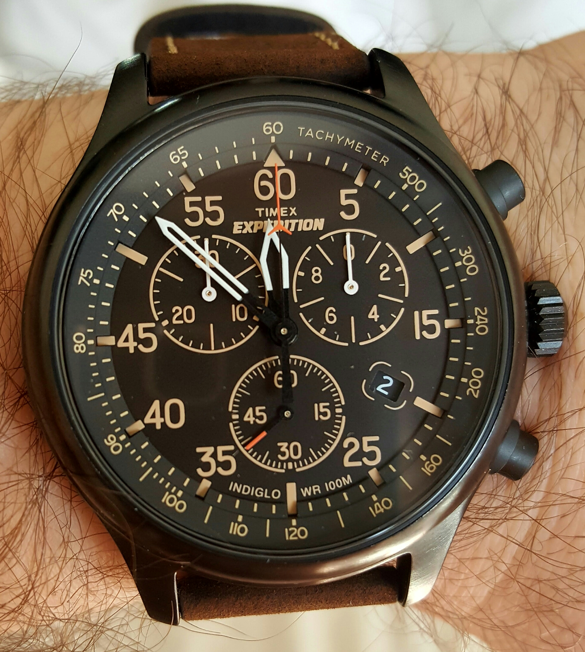 Gents timex expedition chronograph watch t49905 for Expedition watches