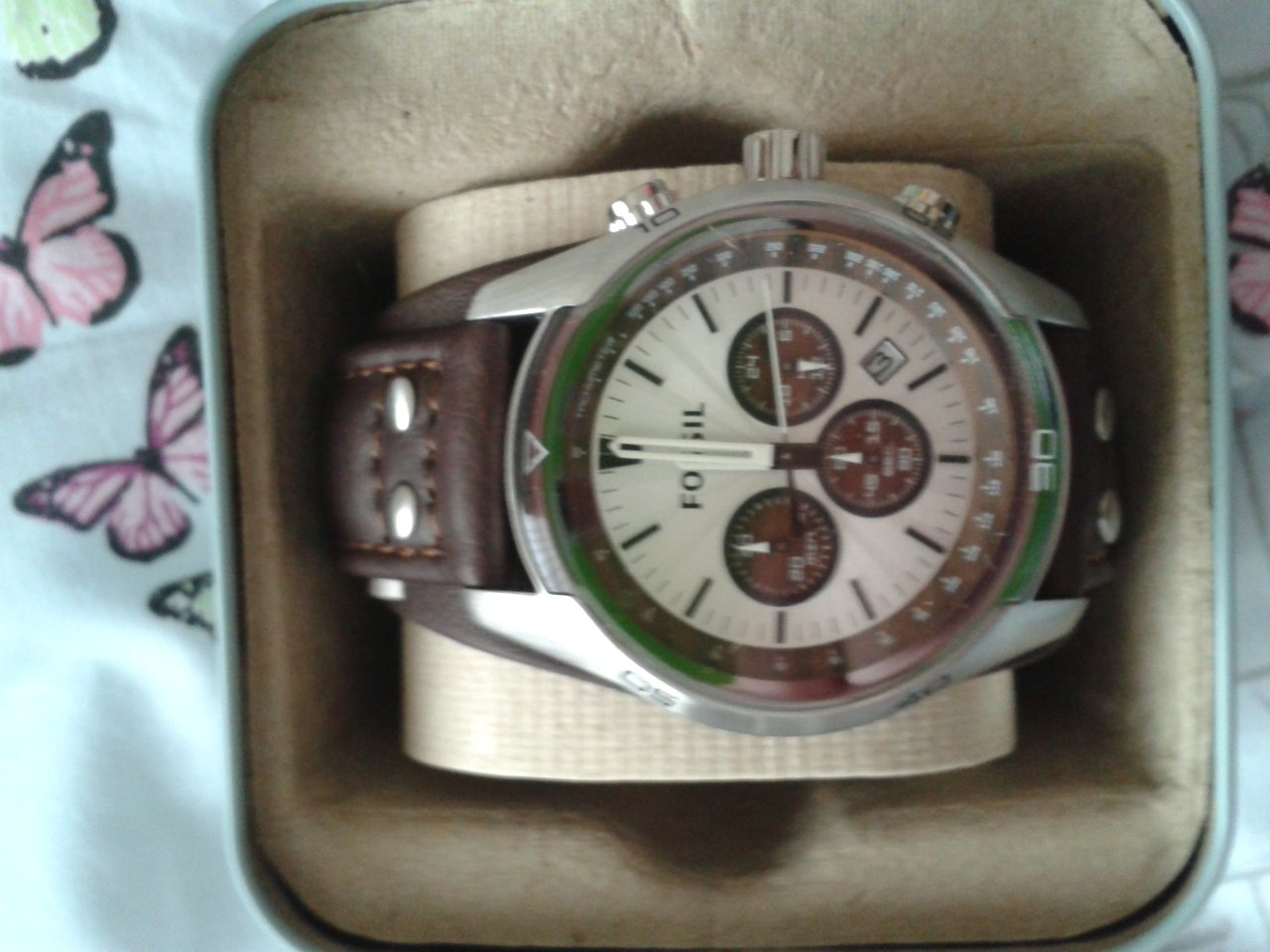Gents Fossil Coachman Chronograph Watch (CH2565 ...