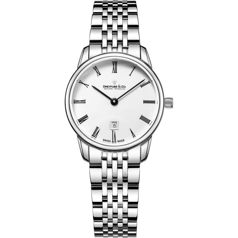 Damen Dreyfuss Co 1980 Watch DLB00146/01