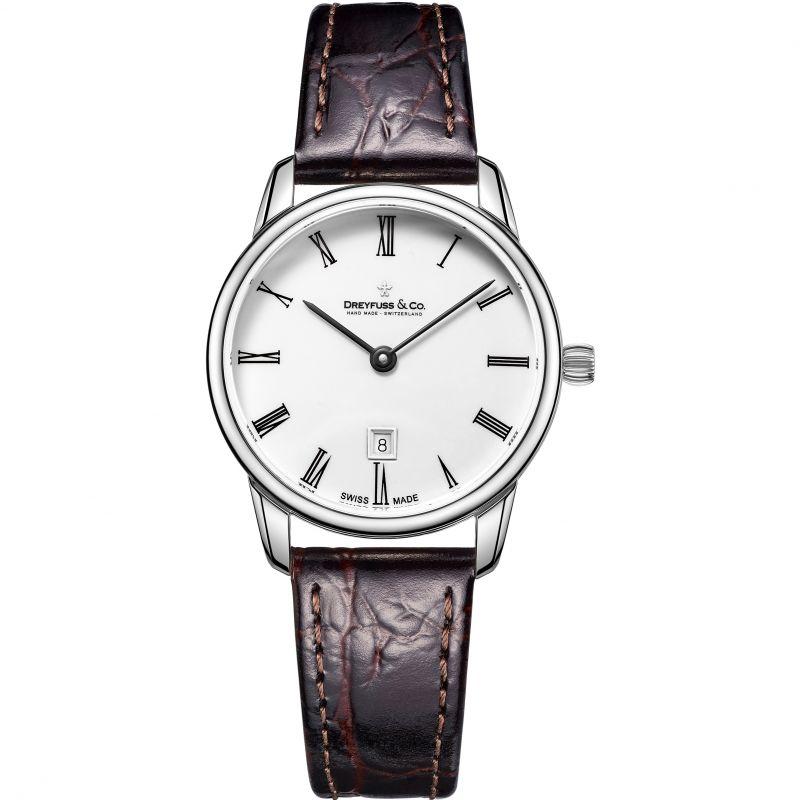 Damen Dreyfuss Co 1980 Watch DLS00146/01