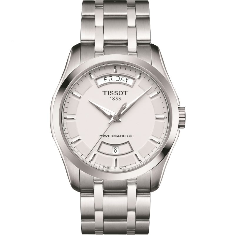 Herren Tissot Couturier Powermatic 80 Watch T0354071103101