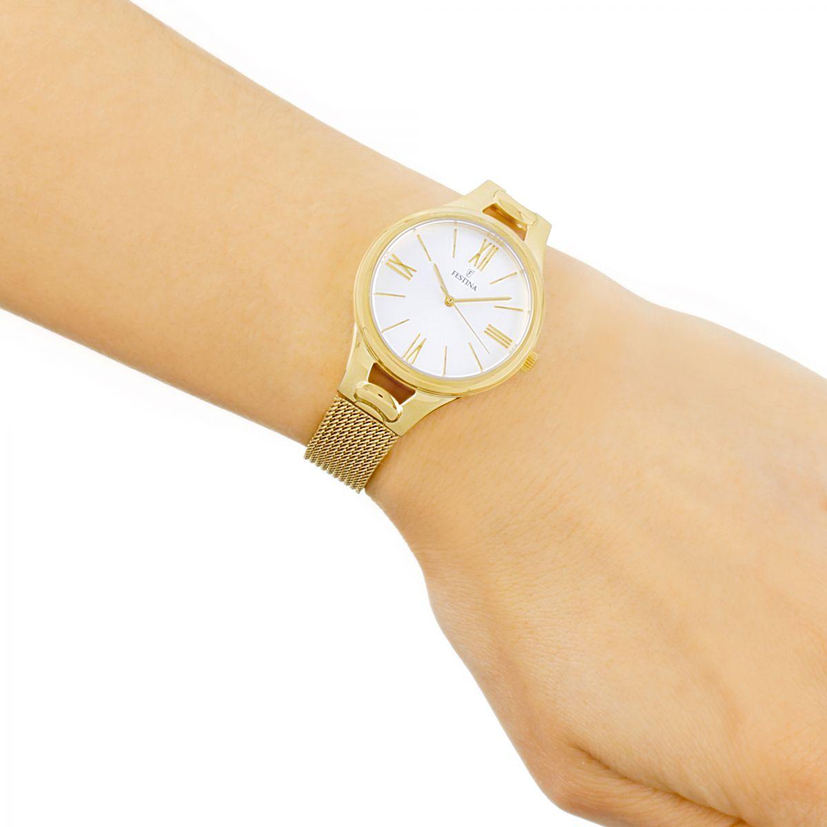 Reloj festina mujer oro