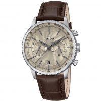Herren Festina Retro Chronograph Watch F16893/3
