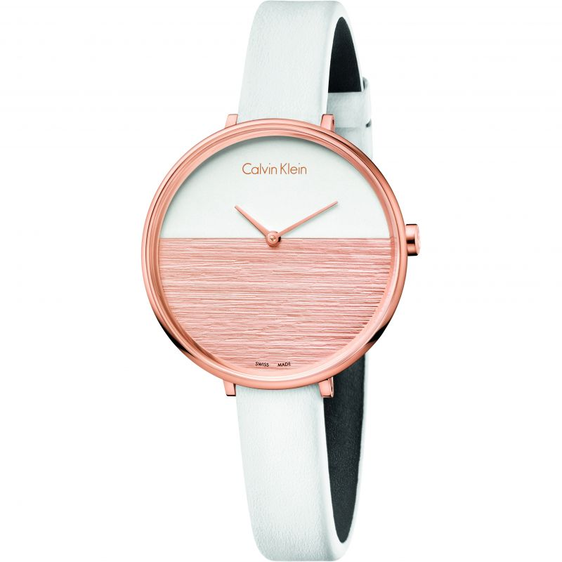 Ladies Calvin Klein Rise Watch K7A236LH