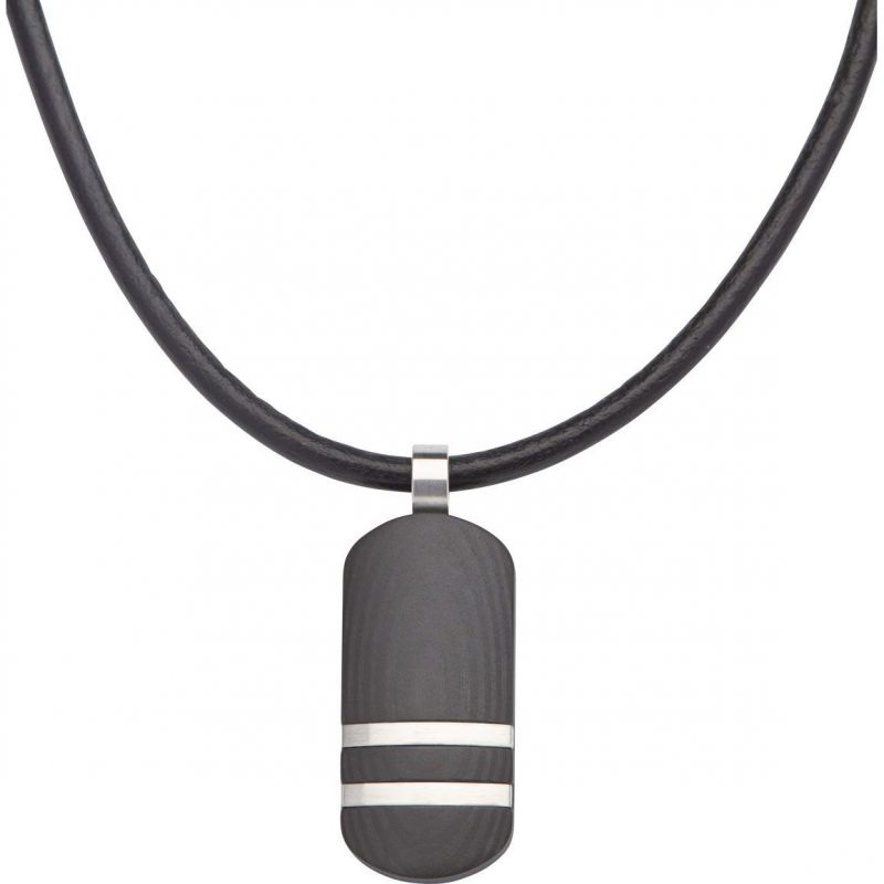 Biżuteria męska Unique & Co Tag Necklace AN-59/50CM