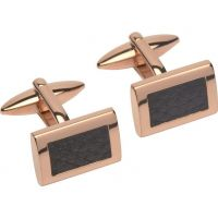 Mens Unique & Co Stainless Steel Cufflinks QC-196