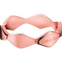 Damen Calvin Klein PVD Rosa plating Größe L.5 Ring