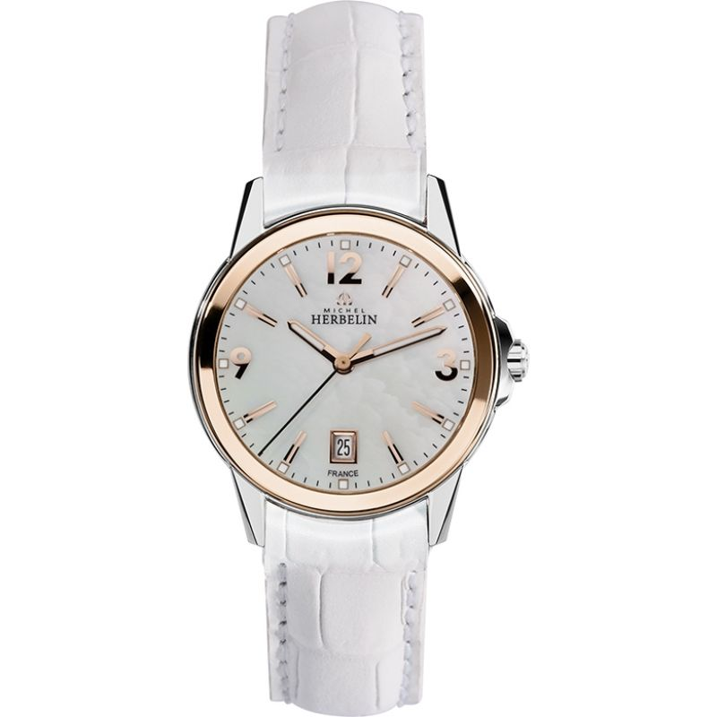 Ladies Michel Herbelin Watch 14250/TR19BLA