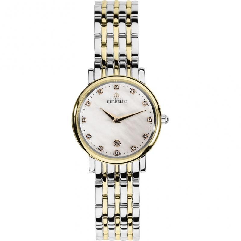Ladies Michel Herbelin Epsilon Watch 16945/BT59