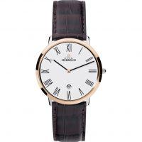 Herren Michel Herbelin Ikone Grande Watch 19515/TR01MA