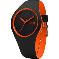 Unisex Ice-Watch Duo Schwarz-Orange Uhr