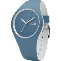 Unisex Ice-Watch Duo Blau- Schmuckstein Uhr