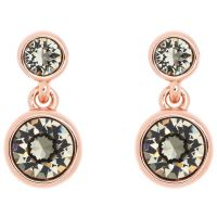 femme Karen Millen Jewellery Crystal Dot Earring Watch KMJ879-24-23