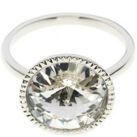 femme Ted Baker Jewellery Rada Rivoli Crystal Ring SM Watch TBJ1159-01-02SM