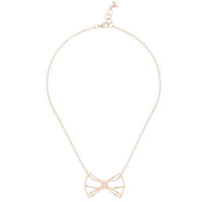 Ted Baker Gianni Bow Necklace