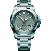 Herren Victorinox Schweizer Militär INOX Uhr