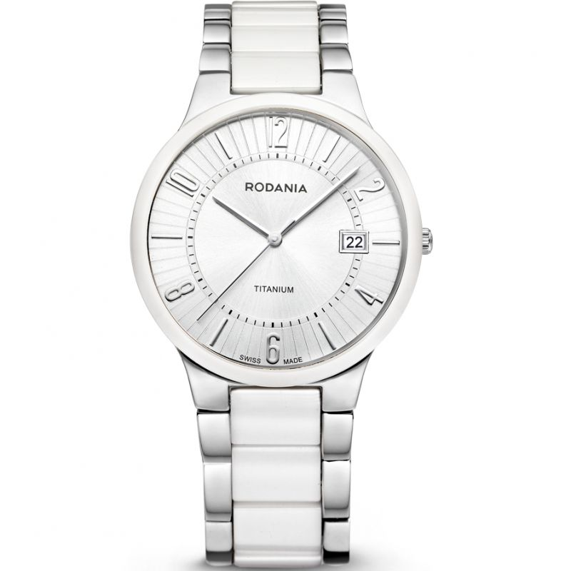Mens Rodania Swiss Mystery Titanium Watch