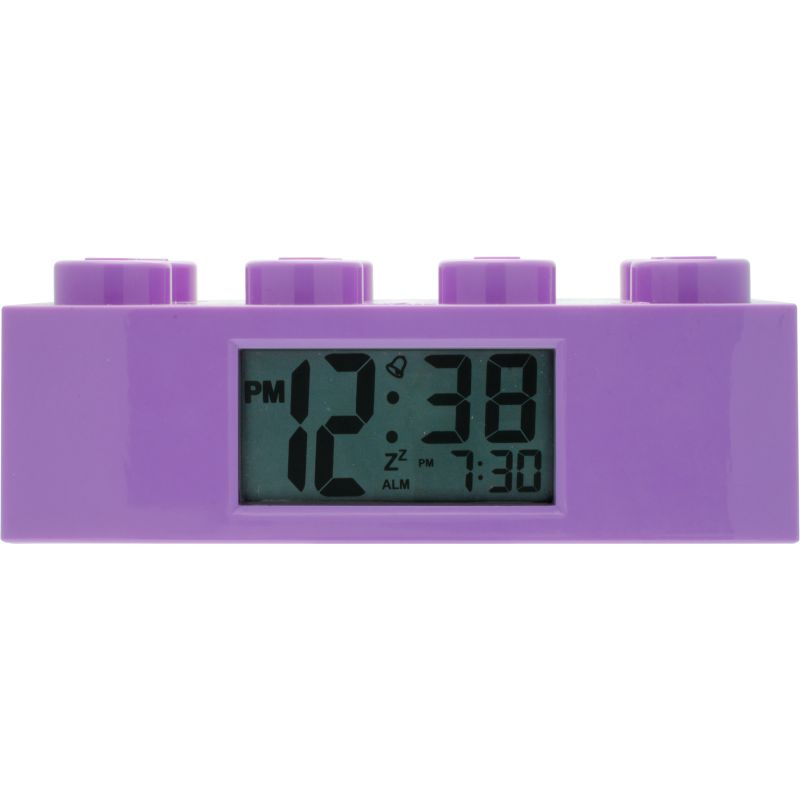 LEGO Purple Friends Brick Alarm Clock 9009853
