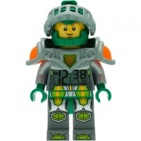 LEGO Nexo Knights Aaron Minifigure Wecker Uhr