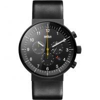 homme Braun BN0095 Prestige Chronograph Watch BN0095BKG