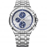 Maurice Lacroix Aikon Herenchronograaf Zilver AI1018-SS002-131-1