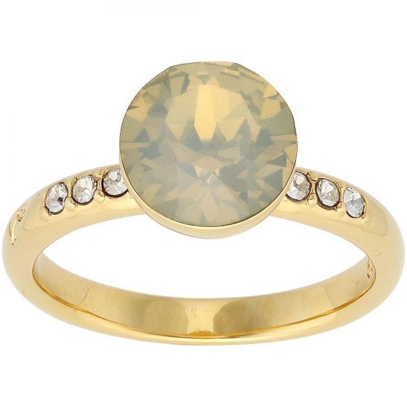 Ladies Lola & Grace Gold Plated Ring Size N 5217100