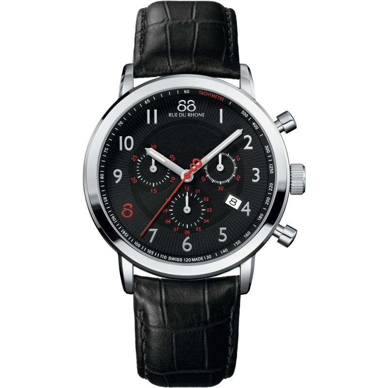 Mens 88 Rue Du Rhone Chronograph Watch