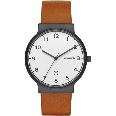 Skagen Ancher Herrenuhr in Braun SKW6297