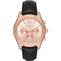 Michael Kors Lexington Herenchronograaf Zwart MK8516