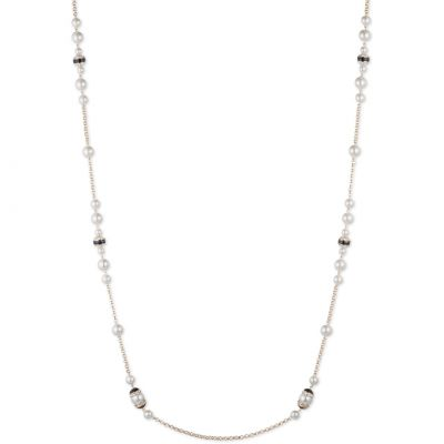 Ladies Anne Klein Gold Plated Sweet Pearls Necklace 60428193-887