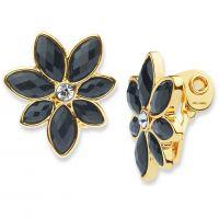 femme Anne Klein Jewellery Holiday Scene Clip On Earrings Watch 60439890-887