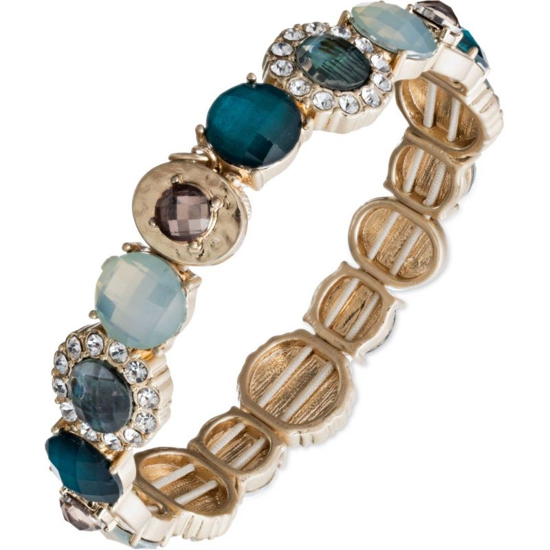 Ladies Lonna And Lilly Gold Plated Lifes a Gem Bracelet 60441092-284