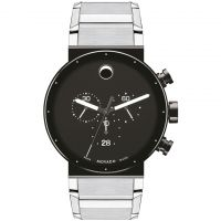 Mens Movado Sapphire Synergy Chronograph Watch