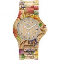 Unisex Wewood Datum Blume Uhr