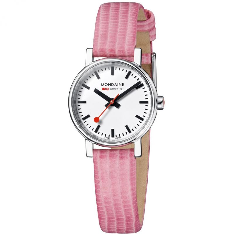 Ladies Mondaine Swiss Railways Evo Petite Watch
