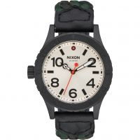 Unisex Nixon The 38-20 Leder Uhr