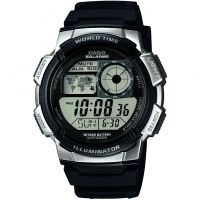 homme Casio World Time Alarm Chronograph Watch AE-1000W-1A2VEF