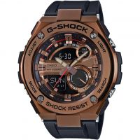 homme Casio G-Steel Alarm Chronograph Watch GST-210B-4AER