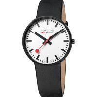 Herren Mondaine Swiss Railways Evo Giant Watch A6603032861SBB