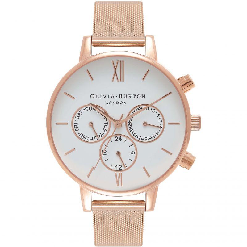 Ladies Olivia Burton Chrono Detail Watch Ob16 Cg86 by Watchshop