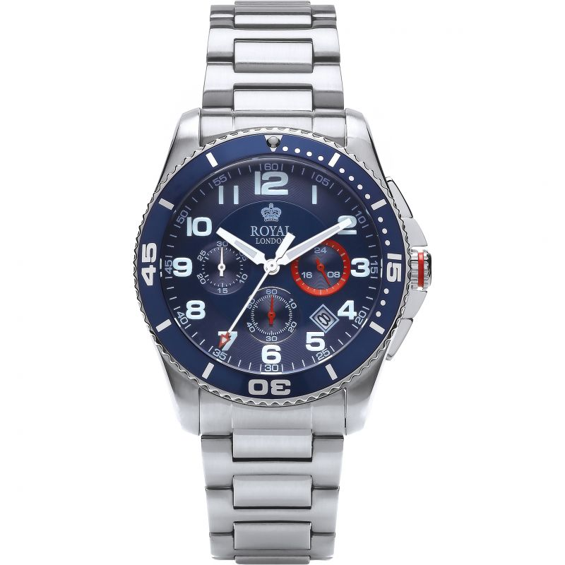 Herren Royal London Chronograph Watch 41339-03