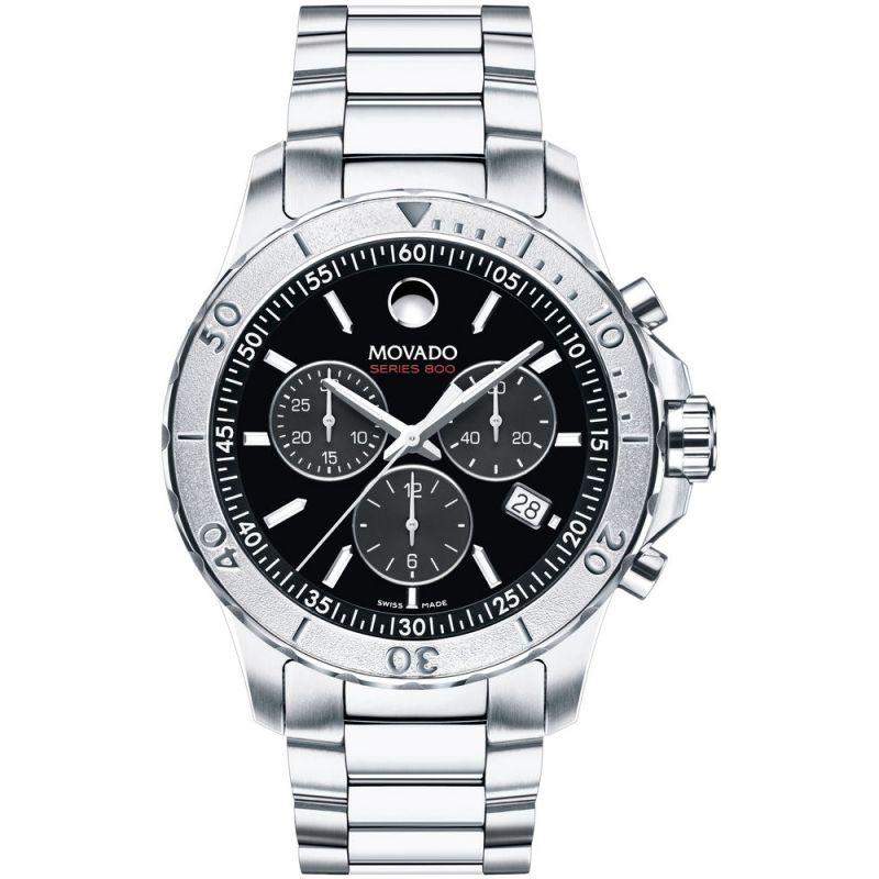Mens Movado Series 800 Chronograph Watch