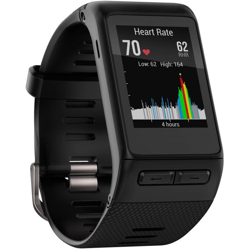 Unisex Garmin Vivoactive HR Bluetooth GPS Activity Tracker Alarm Chronograph Watch
