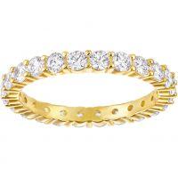 Damen Swarovski PVD Gold überzogen Größe L Vittore Ring
