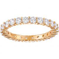 Damen Swarovski Rose vergoldet Größe L Vittore Ring