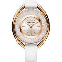Damen Swarovski Crystalline Oval Watch 5230946
